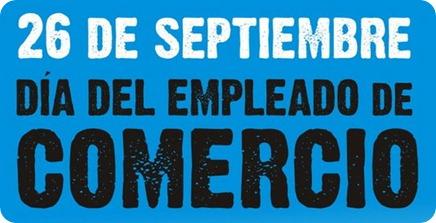 Dia del empleado de comercio 26 de septiembre